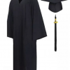High School Cap and Gown unit