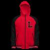 Lincoln High School 2022 LYNX Custom Reversible Hooded letter Jacket